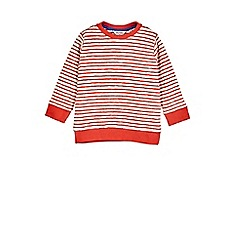 Outfit Kids - Boys' red stripe sweatshirt