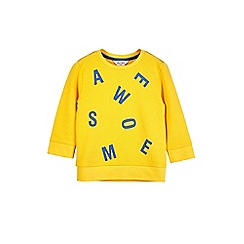 Outfit Kids - Boys' yellow 'awesome' sweatshirt