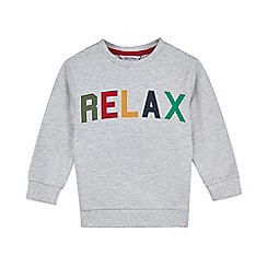 Outfit Kids - Boys' grey relax sweat top