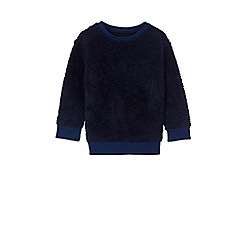 Outfit Kids - Boys' blue borg sweat top