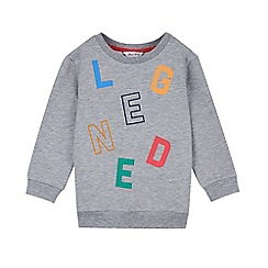 Outfit Kids - Boys' grey embroidered sweat top