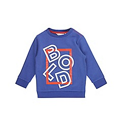 Outfit Kids - Boys' blue bold sweat top