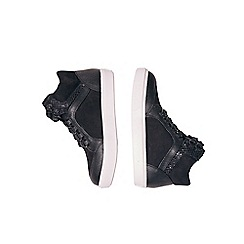 Outfit Kids - Girls' black high top trainers