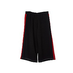 Outfit Kids - Girls' black stripped culottes