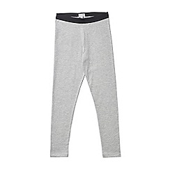 Outfit Kids - Girls' grey marl leggings