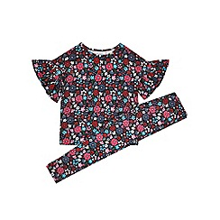 Outfit Kids - 2 pack girls' black leggings