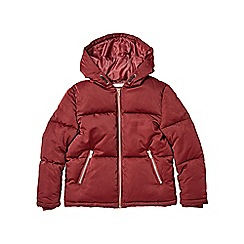 Outfit Kids - Girls' cranberry red padded coat