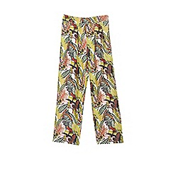 Outfit Kids - Girls' jungle print culottes
