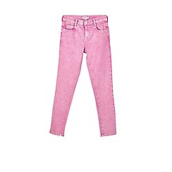 Outfit Kids - Girls' pink wash skinny fit jeans