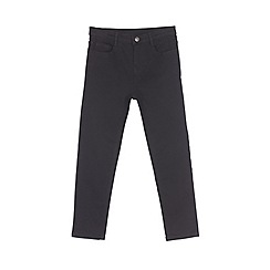 Outfit Kids - Girls' black high waisted skinny jeans