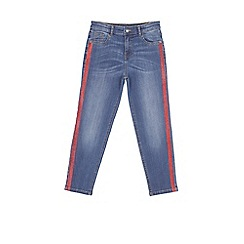 Outfit Kids - Girls' blue denim slouch jeans