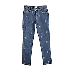 Outfit Kids - Girls' light wash relaxed fit jeans