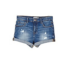 Outfit Kids - Girls' blue denim shorts