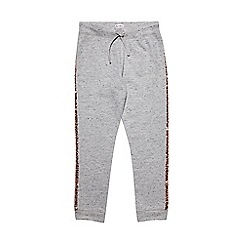 Outfit Kids - Girls' grey and gold jogging bottoms