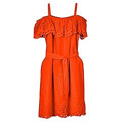 Outfit Kids - Girls' orange ruffle dress