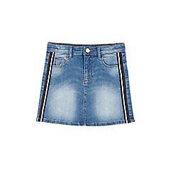 Outfit Kids - Girls' Blue Stripe Denim Skirt