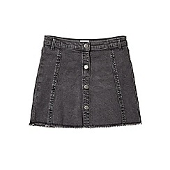Outfit Kids - Girls' black denim skirt
