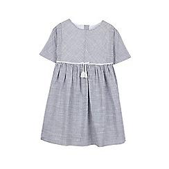 Outfit Kids - Girls' ticking stripe woven dress