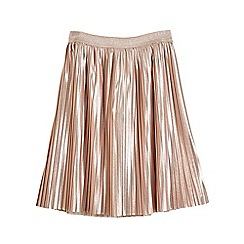Outfit Kids - Girls' pink metallic pleated skirt