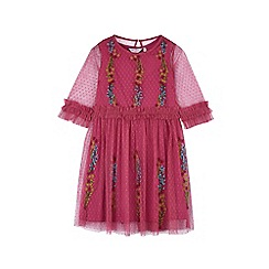 Outfit Kids - Girls' pink embroidepink dress