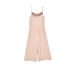 Outfit Kids - Girls' pink sheered jumpsuit