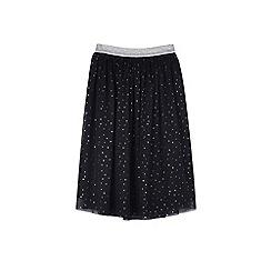 Outfit Kids - Girls' black glitter maxi skirt