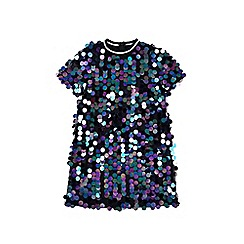 Outfit Kids - Girls' rainbow sequin dress