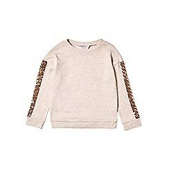 Outfit Kids - Girls' pink sequin sleeve sweatshirt
