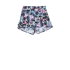 Outfit Kids - Girls' white tropical shorts
