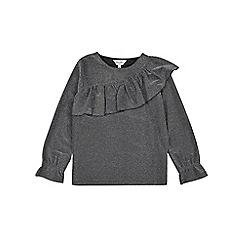 Outfit Kids - Girls' silver frill yoke top