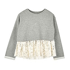 Outfit Kids - Girls' grey sweatshirt