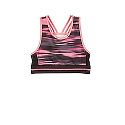 Outfit Kids - Girls' black sports crop top