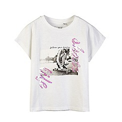 Outfit Kids - Girls' white graphic top