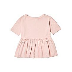 Outfit Kids - Girls' pink frill hem top