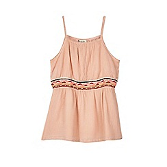 Outfit Kids - Girls' Pink Crinkle Vest Top
