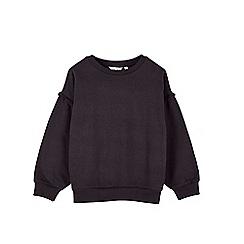 Outfit Kids - Girls' black washed jumper