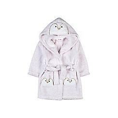 Outfit Kids - Girls' white penguin robe