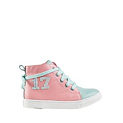Outfit Kids - Girls' pink hi top trainers