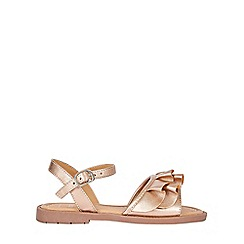 Outfit Kids - Girls' gold frill sandals