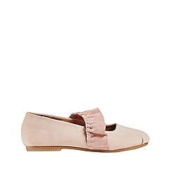 Outfit Kids - Girls' pink frill ballet pumps