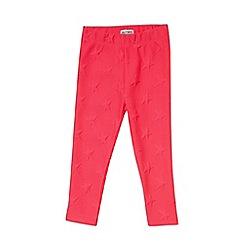 Outfit Kids - Girls' pink star leggings