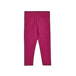 Outfit Kids - Girls' purple star leggings