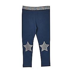 Outfit Kids - Girls' navy star leggings