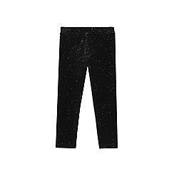 Outfit Kids - Girls' black velvet leggings