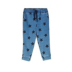 Outfit Kids - Girls' indigo star hareem trousers