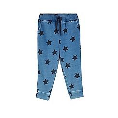 Outfit Kids - Girls' indigo star hareem trousers