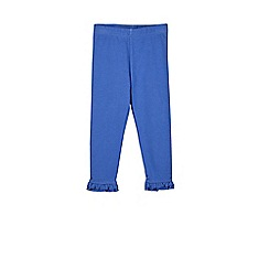 Outfit Kids - Girls' 2 pack blue and white leggings