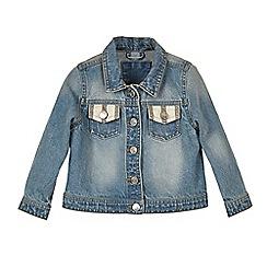 Outfit Kids - Girls' blue denim jacket