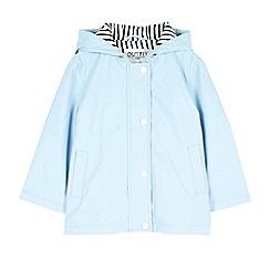 Outfit Kids - Girls' blue fisherman rain jacket