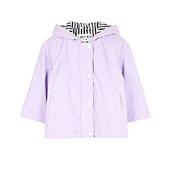 Outfit Kids - Girls' lilac fisherman rain jacket